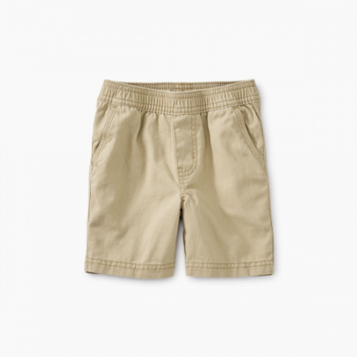 TEA EASY DOES IT TWILL BABY SHORTS