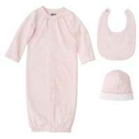 MUD PIE PINK LAYETTE GIFT SET
