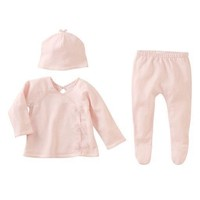 MUD PIE PINK KIMONO TAKE ME HOME SET