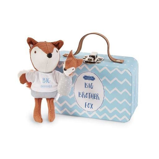 MUD PIE BIG BROTHER FOX-IN-A-BOX