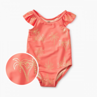 TEA FLUTTER BABY ONE-PIECE