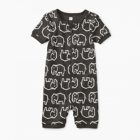 TEA SHORT SLEEVE BABY PAJAMAS