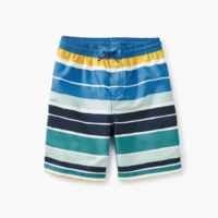 TEA PRINTED BABY SWIM TRUNKS