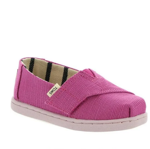 TOMS SHOES CLASSIC  CANVAS TINY TOMS SNEAKER