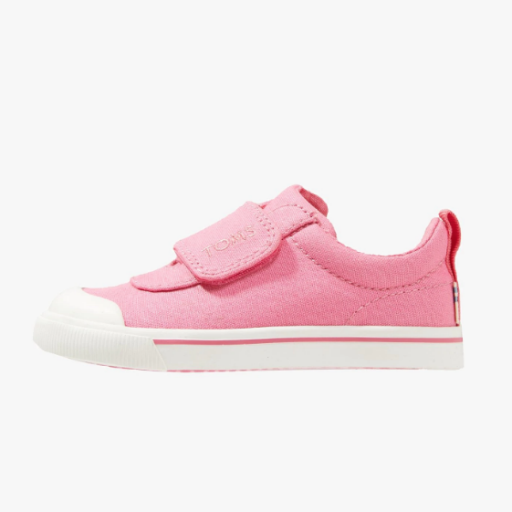 TOMS SHOES CANVAS TINY TOMS DOHENY SNEAKERS