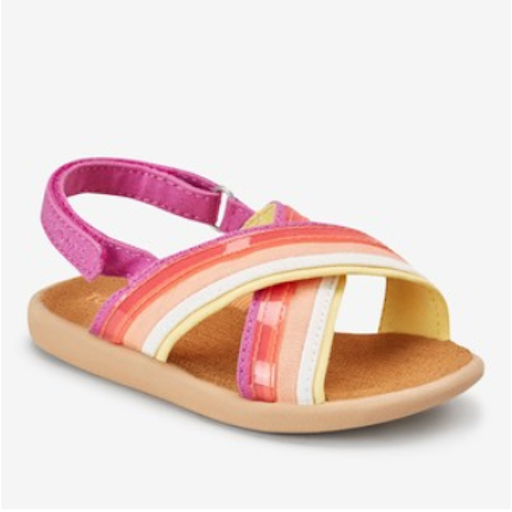 TOMS SHOES CANVAS TRANSLUCENT STRIPE