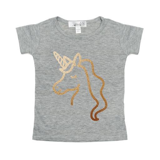 SWEET WINK SWEET WINK GOLD GRAPHIC T-SHIRT