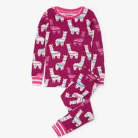 HATLEY ADORABLE ALPACAS ORGANIC COTTON PAJAMA SET