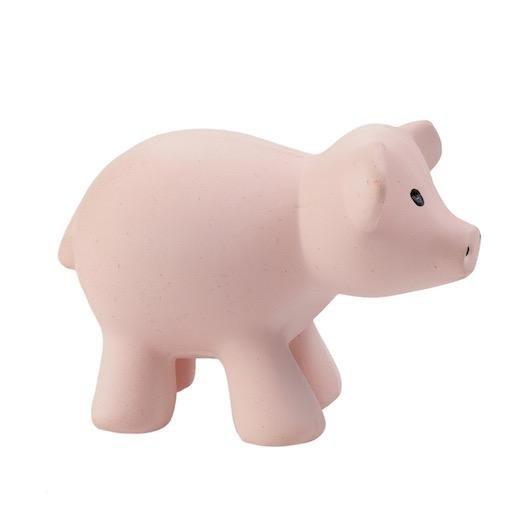 TIKIRI PIG RATTLE TOY