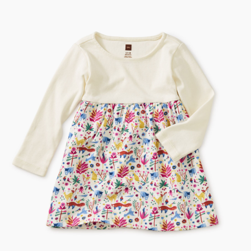 TEA TWO-TONE BABY DRESS