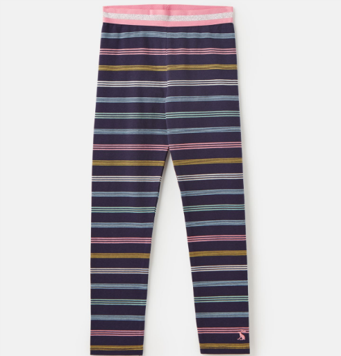 JOULES GLITZY LUXE SHINE WAISTBAND LEGGING