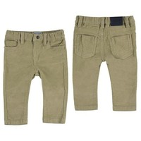 MAYORAL USA BASIC SLIM FIT CORD TROUSERS