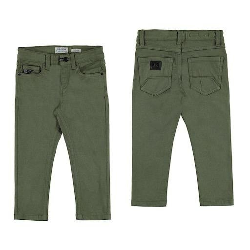 MAYORAL USA ELASTANE TWILL TROUSERS