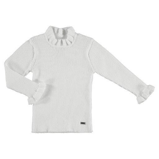 MAYORAL USA RIB MOCKNECK SWEATER