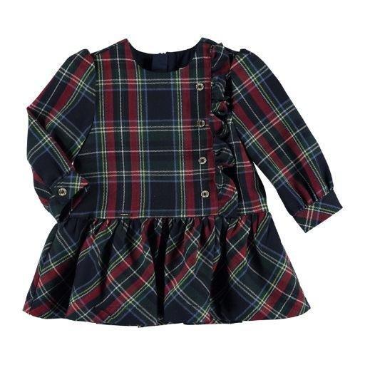MAYORAL USA PLAID DRESS