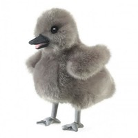 FOLKMANIS BABY SWAN PUPPET