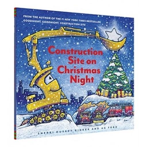 CHRONICLE BOOKS CONSTRUCTION SITE ON CHRISTMAS NIGHT