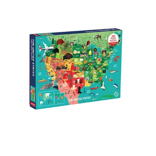 CHRONICLE BOOKS UNITED STATES 1000 PIECE PUZZLE