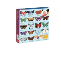 CHRONICLE BOOKS BUTTERFLIES NORTH AMERICA 500 PIECE PUZZLE