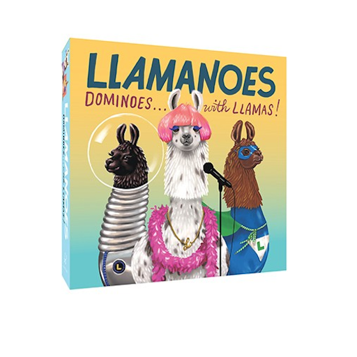 CHRONICLE BOOKS LLAMANOES DOMINOES WITH LLAMAS!