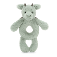 JELLYCAT INC BASHFUL DRAGON RING RATTLE