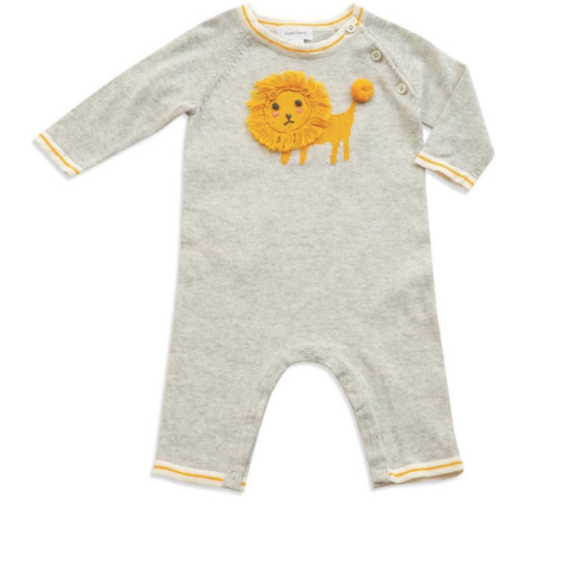 ANGEL DEAR LION KING KNIT COVERALL
