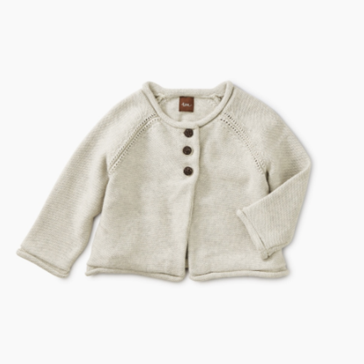 TEA SOLID BABY CARDIGAN