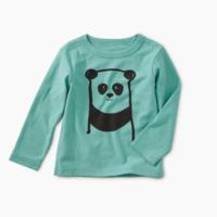 TEA I'M A PANDA GRAPHIC BABY TEE