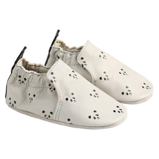ROBEEZ GREY PIPER PANDA SOFT SOLES