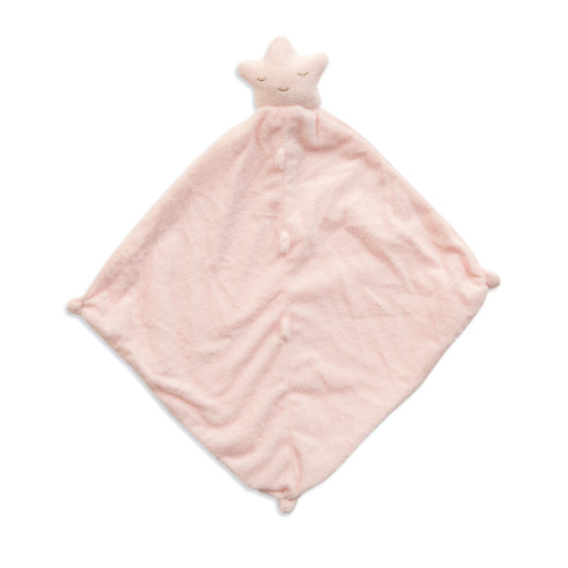 ANGEL DEAR ANGEL DEAR PINK STAR BLANKIE