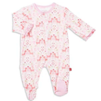 MAGNIFICENT BABY FLORA & FAWNA MODAL MAGNETIC FOOTIE