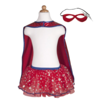 CREATIVE EDUCATION OF CANADA SUPERHERO TUTU CAPE AND MASK