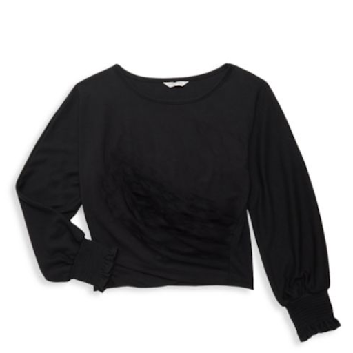 HABITUAL GIRL CATHERINE LONG SLEEVE TOP