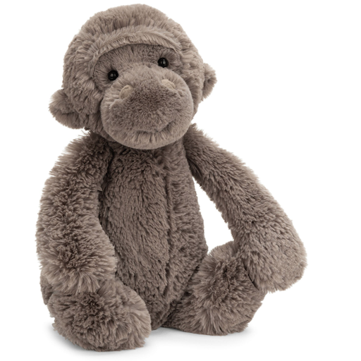 JELLYCAT INC BASHFUL MEDIUM GORILLA
