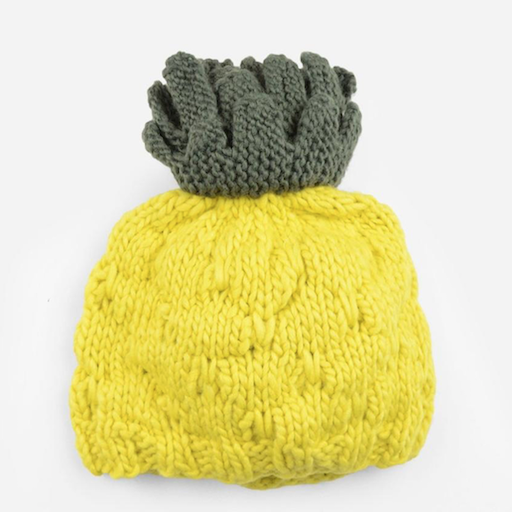 THE BLUEBERRY HILL CARMEN PINEAPPLE HAT