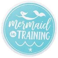 MUD PIE MERMAID IN TRAINING BEACH TOWEL/BLANKET