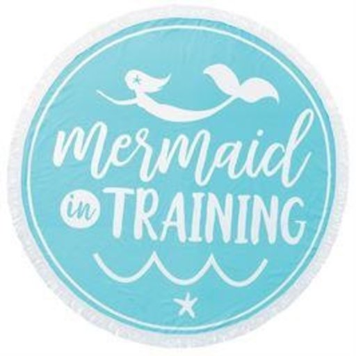 MUD PIE MERMAID IN TRAINING BEACH TOWEL/BLANKET