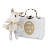 MUD PIE BRAVE FOX GIRL-IN-A-BOX