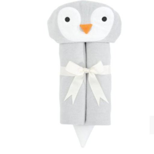 ELEGANT BABY PENGUIN BATH WRAP