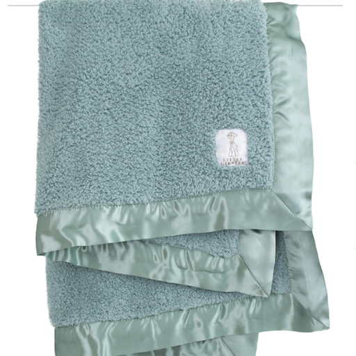 LITTLE GIRAFFE, INC. LITTLE GIRAFFE CHENILLE SAGE BABY BLANKET