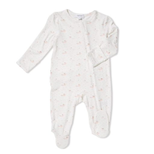 ANGEL DEAR BABY FOX ZIPPER FOOTIE