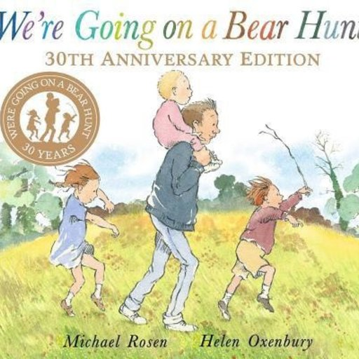 SIMON & SCHUSTER WE'RE GOING ON A BEAR HUNT 30TH ANNIVERSARY EDITION
