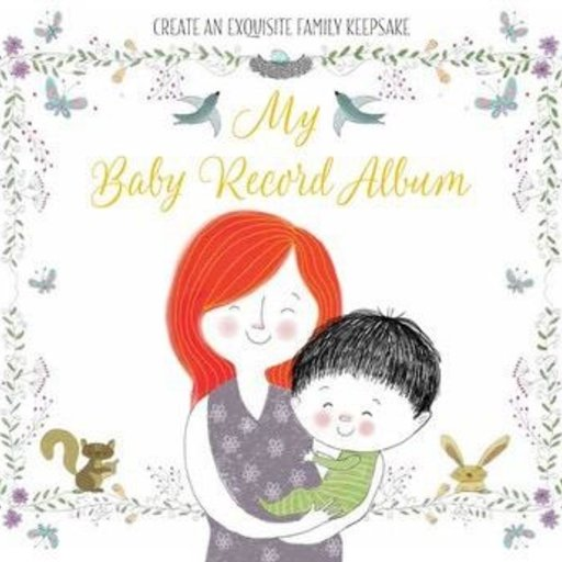 SIMON & SCHUSTER MY BABY RECORD ALBUM