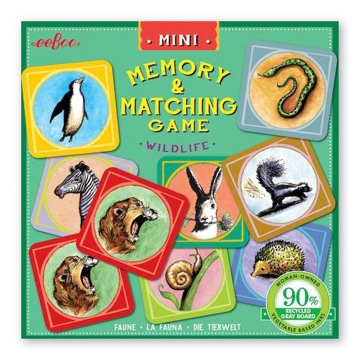 EEBOO MINATURE MATCHING GAMES