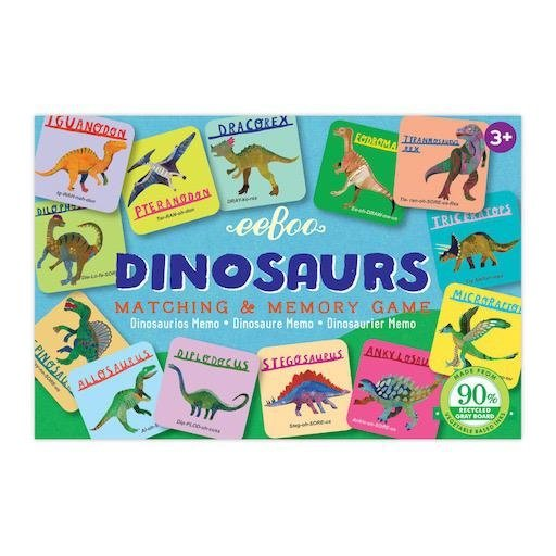 EEBOO DINOSAURS LITTLE MATCHING GAME