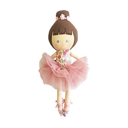 ALIMROSE BABY BALLERINA ROSE GARDEN DOLL