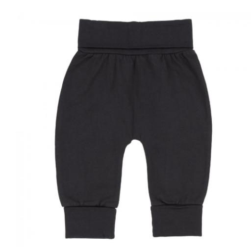 DEUX PAR DEUX GRAPHIC RAGLAN TOP & BLACK EVOLUTIVE PANT SET