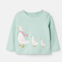 JOULES HARRIET APPLIQUE TOP