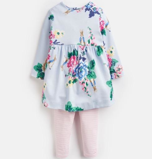 JOULES CHRISTINA DRESS AND LEGGING SET