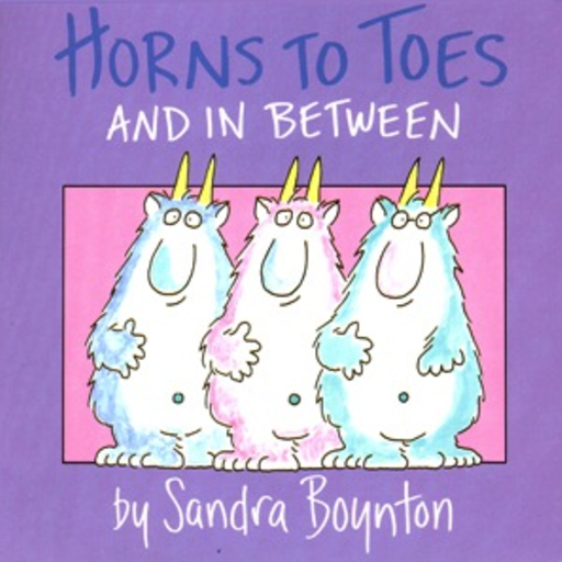 SIMON & SCHUSTER HORNS TO TOES AND IN BETWEEN BOARD BOOK